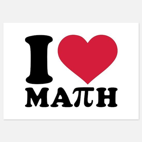 I love math Pi Invitations