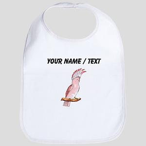Custom Pink Cockatoo Bib