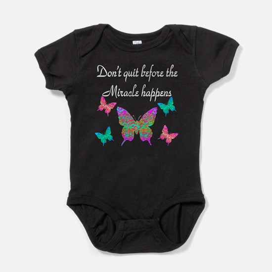 EXPECT MIRACLES Baby Bodysuit
