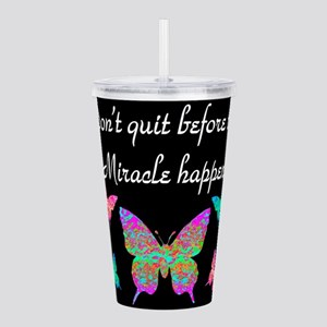 EXPECT MIRACLES Acrylic Double-wall Tumbler