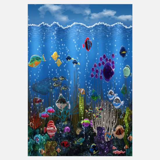 Underwater Love Wall Art