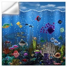 Underwater Love Wall Art Wall Decal