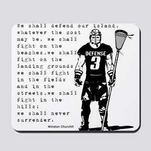 Lacrosse WC Quote Mousepad
