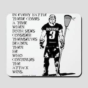 Lacrosse USG Quote 1 Mousepad