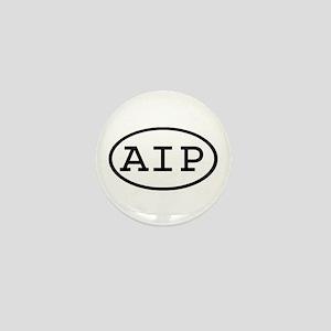 AIP Oval Mini Button