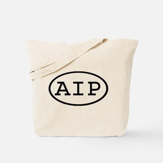 AIP Oval Tote Bag