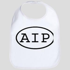 AIP Oval Bib
