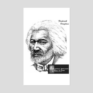 Frederick Douglass Rectangle Sticker