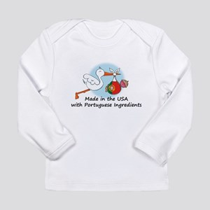 Stork Baby Portugal USA Long Sleeve T-Shirt