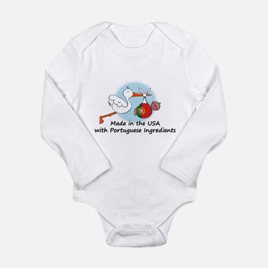 Stork Baby Portugal USA Body Suit