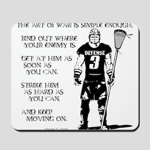 Lacrosse USG Quote 2 Mousepad