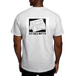 Size Does Matter Ash Grey T-Shirt
