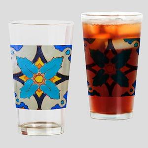 Alcazar Tile Drinking Glass