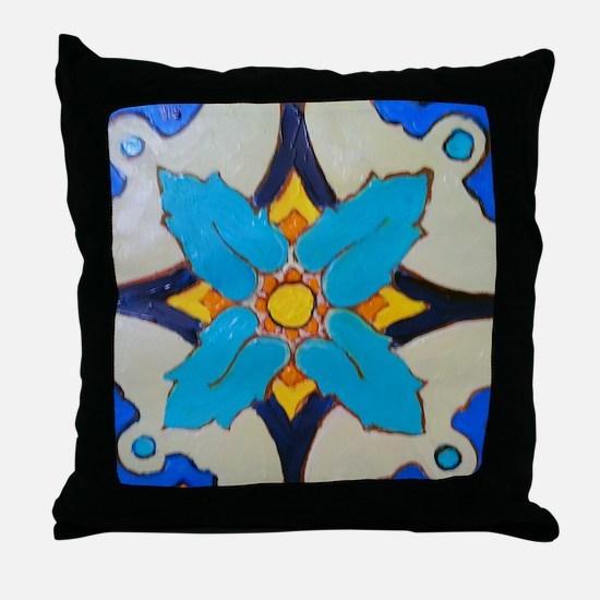 Alcazar Tile Throw Pillow