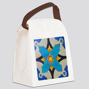 Alcazar Tile Canvas Lunch Bag