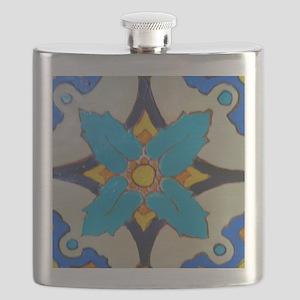 Alcazar Tile Flask