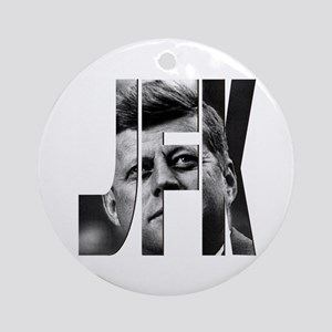 JFK Ornament (Round)