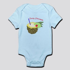 Party Pineapple Body Suit