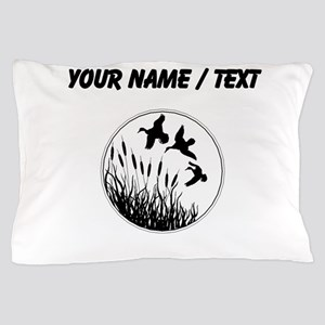 Custom Cattails And Ducks Pillow Case