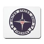 USS INCHON Mousepad