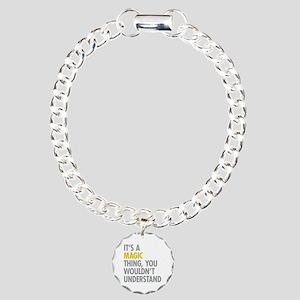 Its A Magic Thing Charm Bracelet, One Charm