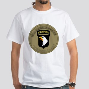 101st airborne screaming eagles White T-Shirt