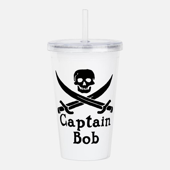 Captain Bob Acrylic Double-wall Tumbler