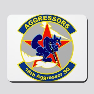 18th_aggressor Mousepad