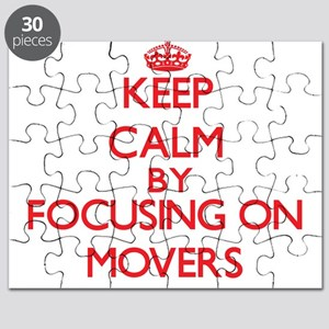 Keep Calm by focusing on Movers Puzzle