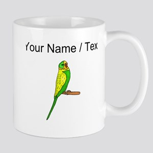 Custom Budgie Bird Mugs