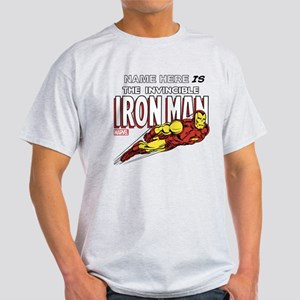 Personalized Invincible Iron Man Light T-Shirt