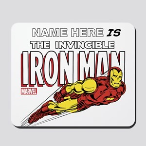 Personalized Invincible Iron Man Mousepad