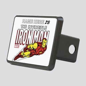 Personalized Invincible Ir Rectangular Hitch Cover