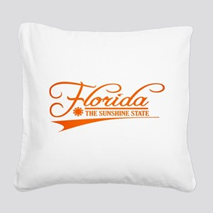 Florida State of Mine Square Canvas Pillow