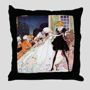 Twelve Dancing Princesses by Kay NIelsen Throw Pil