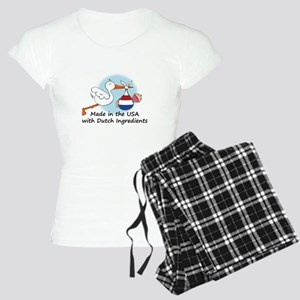 stork baby nether 2 Women's Light Pajamas