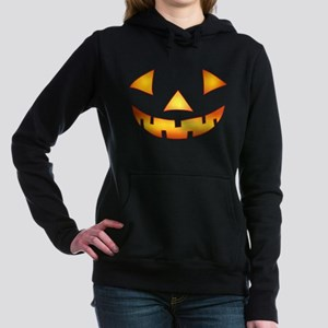 Jack-o-lantern Pumpkin Women's Hooded Sweatshirt
