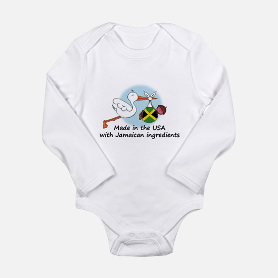 Stork Baby Jamaica USA Body Suit