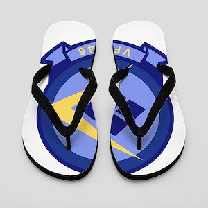 vfa146_blue_diamonds Flip Flops