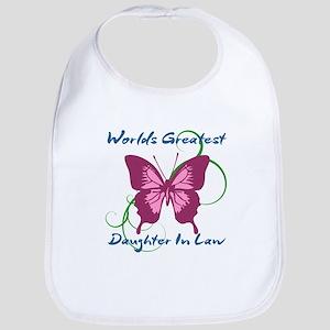 World's Greatest Daughter-In-Law Bib
