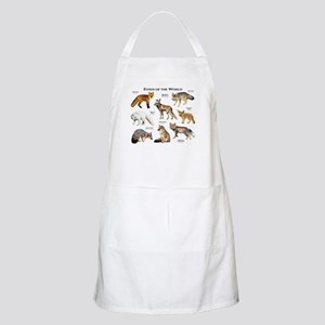 Foxes of the World Apron