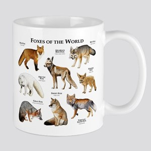 Foxes of the World Mug