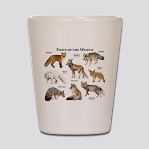 Foxes of the World Shot Glass