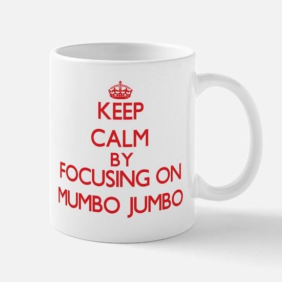 Keep Calm by focusing on Mumbo Jumbo Mugs