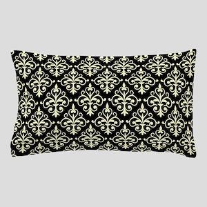 Cream & Black Damask 41 Pillow Case