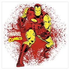 Iron Man Fist Wall Art Poster