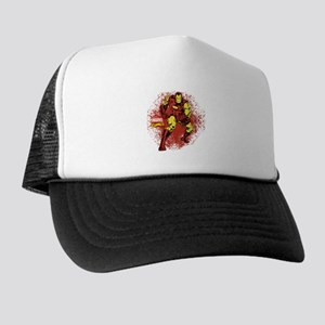 Iron Man Fist Trucker Hat