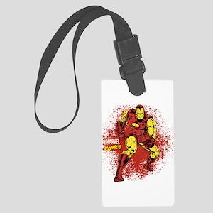Iron Man Fist Large Luggage Tag