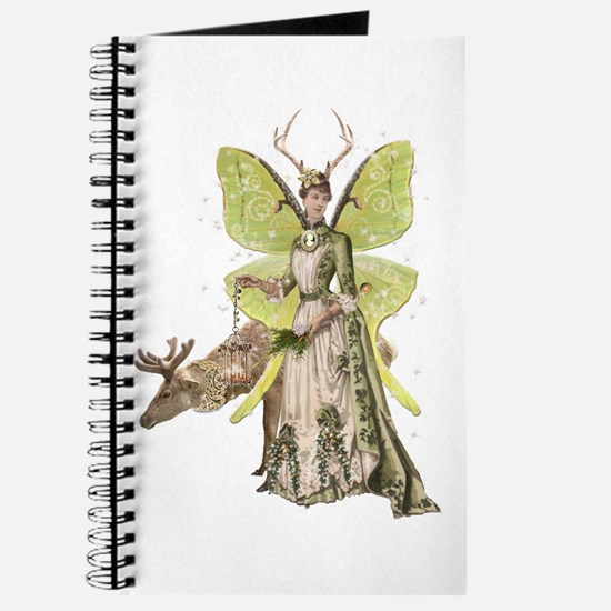 Reindeer Guardian Angel Journal