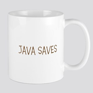 JAVA SAVES Mugs
